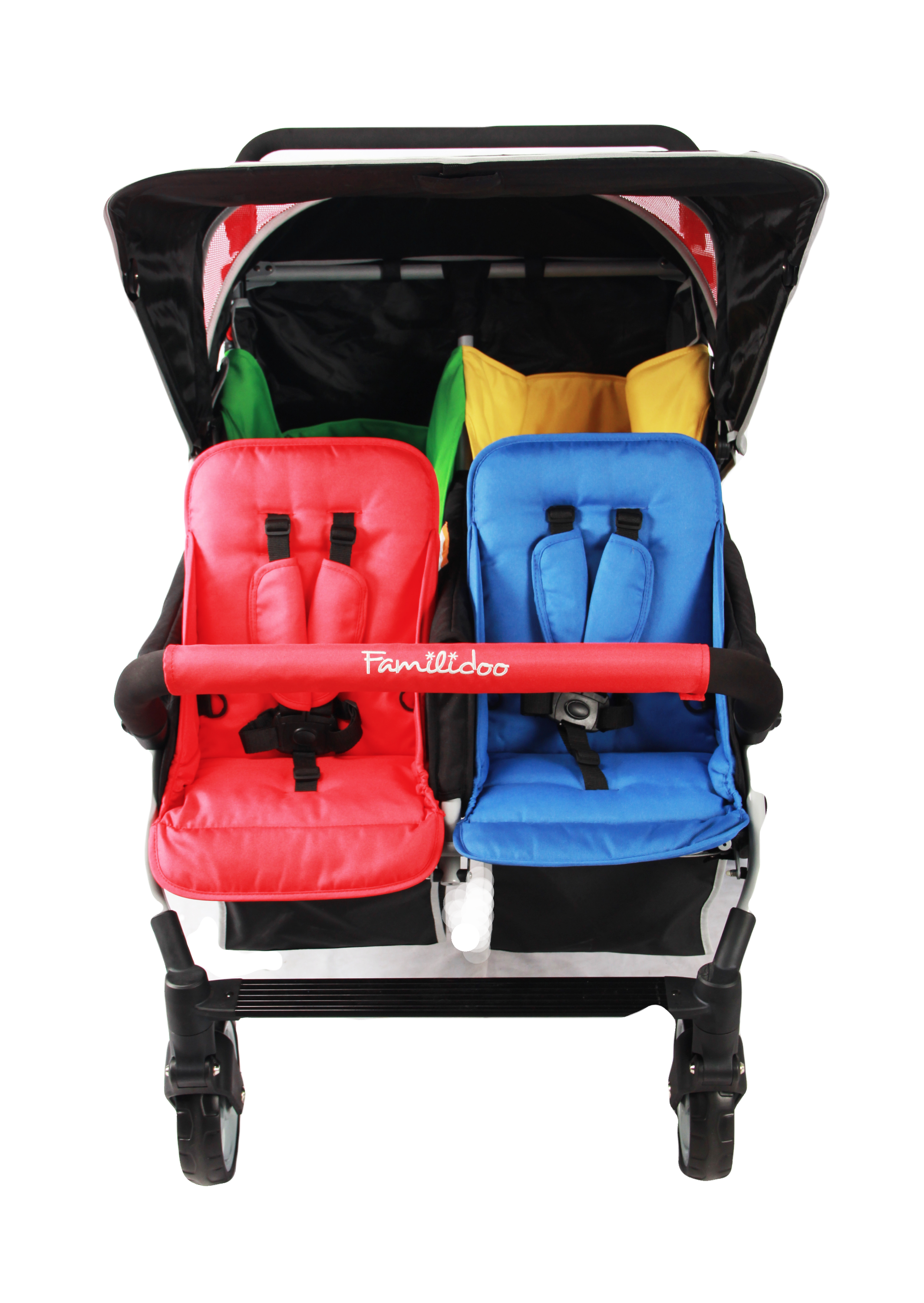 DSJ04FR-Familidoo-4 seater pushchair