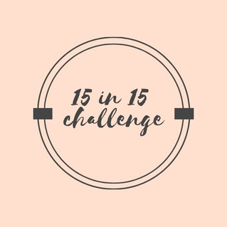Join the 15 in 15 challenge!