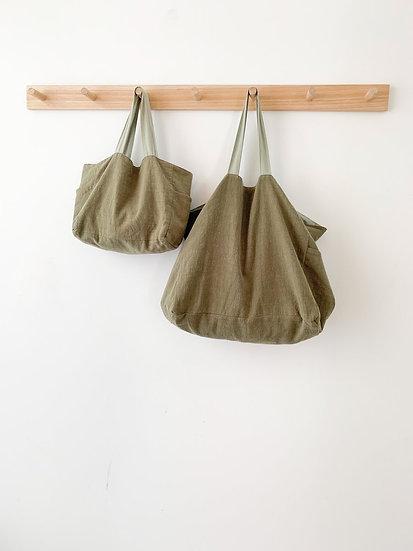 Mini Ramie Bag - Feather + Oak