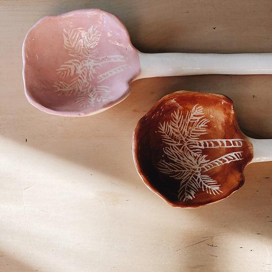 Hand Made Clay Spoon - The Clay Society