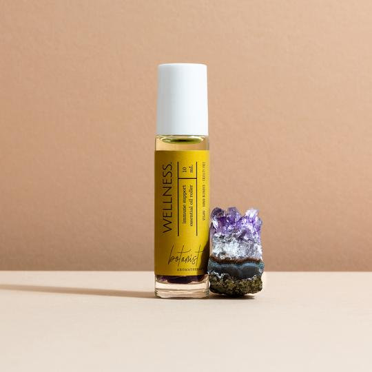 Crystal Infused Essential Oil Rollers - Botanist Aromatherapy