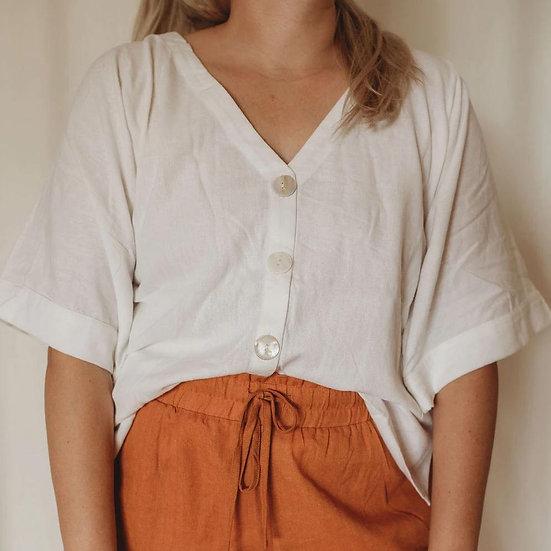 Golden the Label - Linen Lounge Shirt {2 colours}