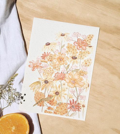 Shades of Sunshine - Hello Petal Art Print