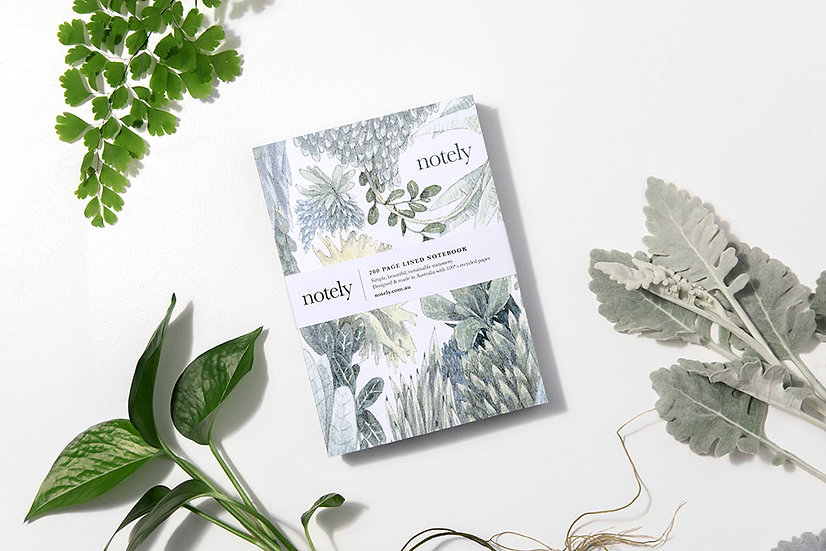 Notely Botanical Journal - 100% recycled