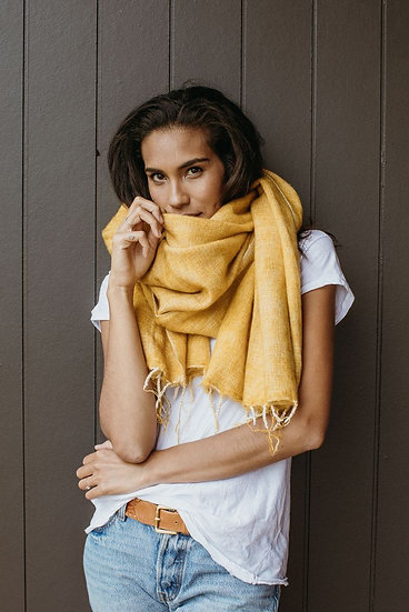 Hobo + Hatch Wrap - Ethically Hand-woven in Nepal