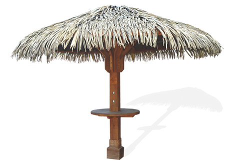 The Ocean 11' ( Synthetic Thatch Palapa )