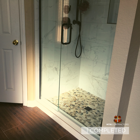 beautiful shower remodeling project by f