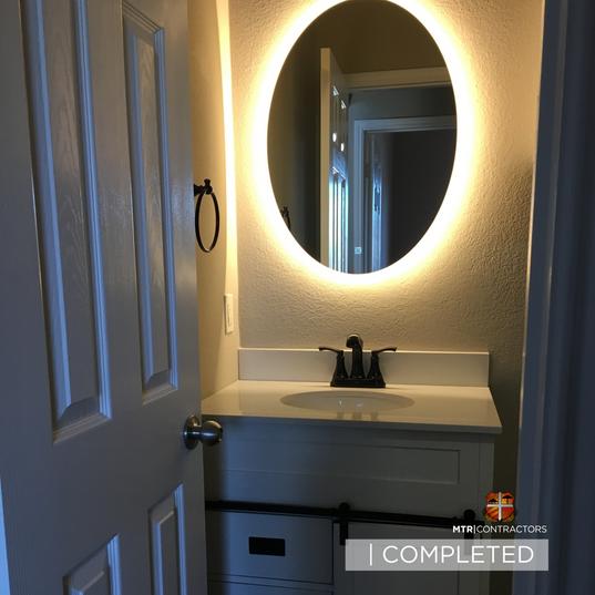 Bathroom vanity & mirrors  remodeling pr