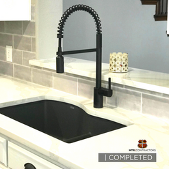 beautiful sink in kitchen remodeling pro