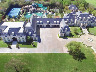 Luxury & Tropical Preston Hollow Estate in Dallas - With Thatched Roofs hits the market for $32M