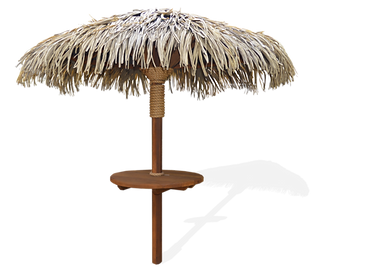 8ft Breeze Synthetic Thatch Palapas
