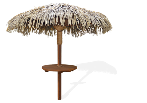 The Breeze 8' (Premium Synthetic Thatch Palapa)