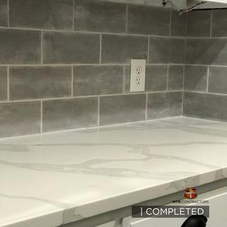 backsplash and countertops kitchen remod