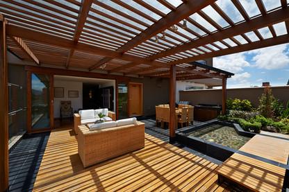 Interior design_ Beautiful terrace loung