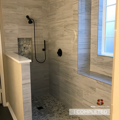 Full Bathroom remodeling in North Dallas