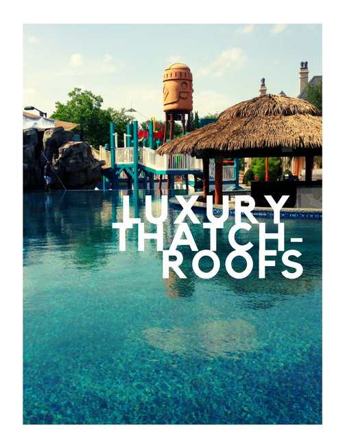Luxury Thatch Projects - My thatchroof