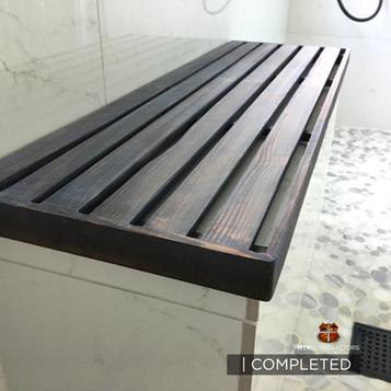 Cedar Bench in Frisco Bathroom remodel.p