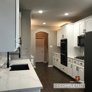 Kitchen remodeling project in North Dall