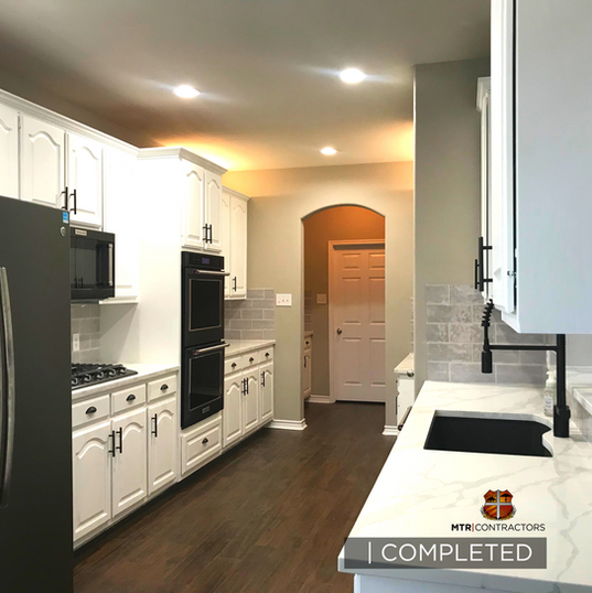 Perfect kitchen remodeling project by MT
