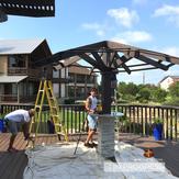 In progress palapa tiki hut in Texas.png