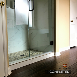beautiful custom shower remodeling proje