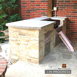 beautiful outdoor grill: outdoor kitchen