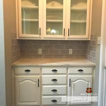 Custom cabinet remodel in full home remo