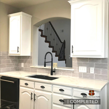 complete kitchen remodeling project in n