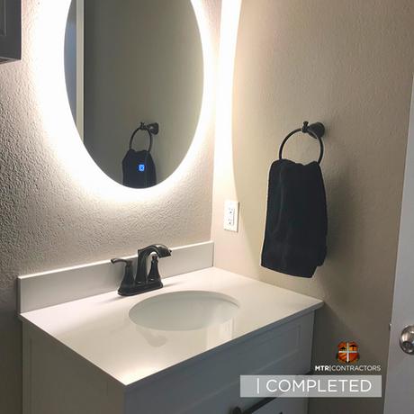Bathroom remodeling in North Dallas by F
