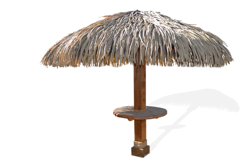 The Palmas 9' (Synthetic-Thatch Palapa)