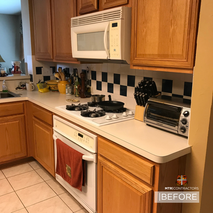 before and after pictures of kitchen rem