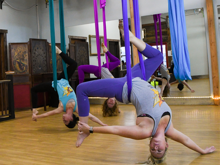 3 Tips for Your First Aerial Yoga Class