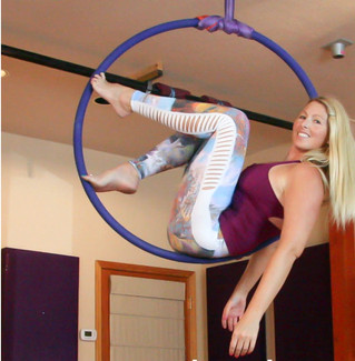 Dynamic Tension in Aerial Arts & Pole