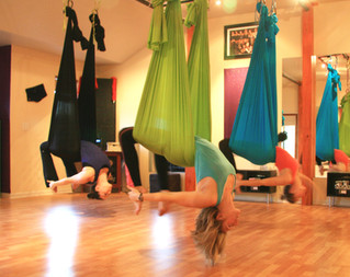 Three Tips for Your First Aerial Yoga Class