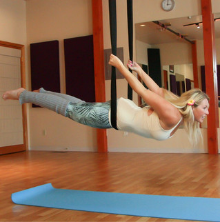 Five Minute Glute Blast Workout in the Aerial Hammock