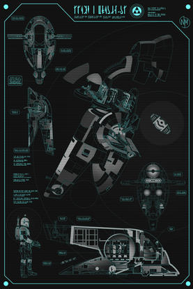Slave 1 Architectural Drawings