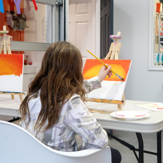 Monthly Paint Nights for Kids