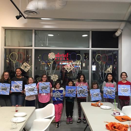 Kids Paint Night
