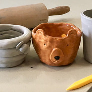 We teach clay handbuilding in our art classes!