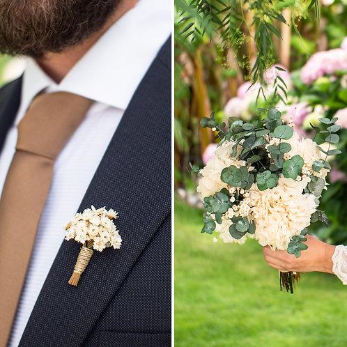 Bouquet Preservado + Prendido