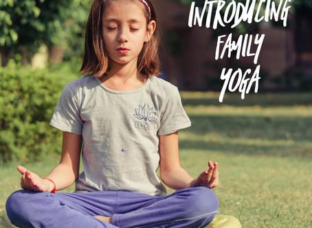 FAMILY fun with Leo Yoga