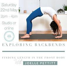 May - Unlocking Backbends - Joelle Petti