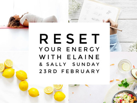 Reset Your Energy at our Full Day Retreat!