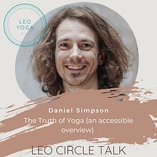 May - Leo Talk with Daniel Simpson Image