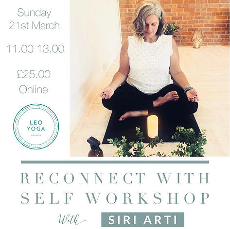 Siri Arti - Reconnect to Self Workshop .
