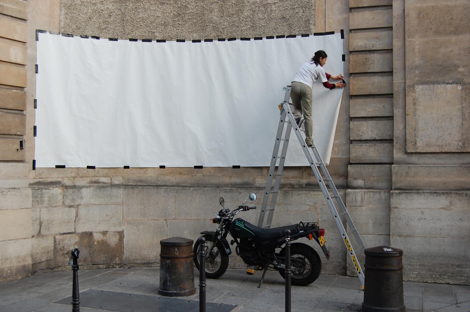 Canvas preparation, 2007