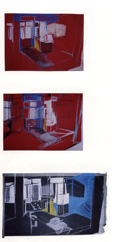Studies for Window That Can Be Seen, 1998
