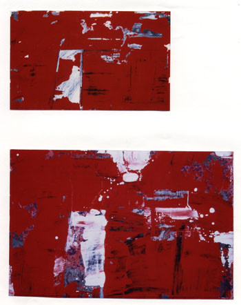Studies for Sketch of an Instant, 1999