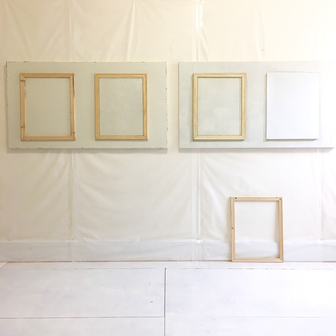 Painting Frames, Framing Paintings 1 and 2