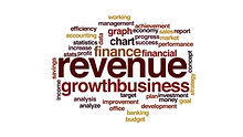 revenue-animated-word-cloud-text-design-